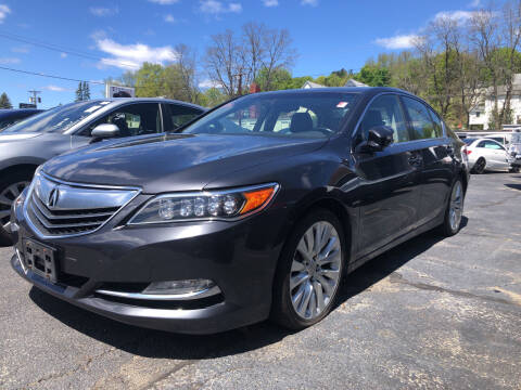 2017 Acura TLX for sale at Top Line Import of Methuen in Methuen MA