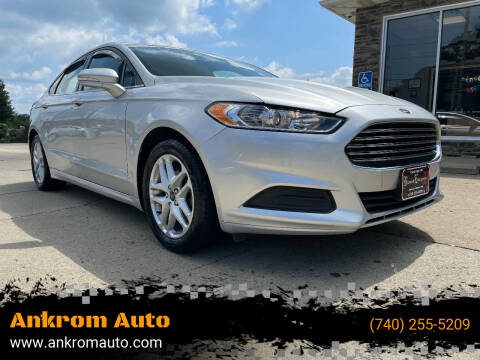 2014 Ford Fusion for sale at Ankrom Auto in Cambridge OH