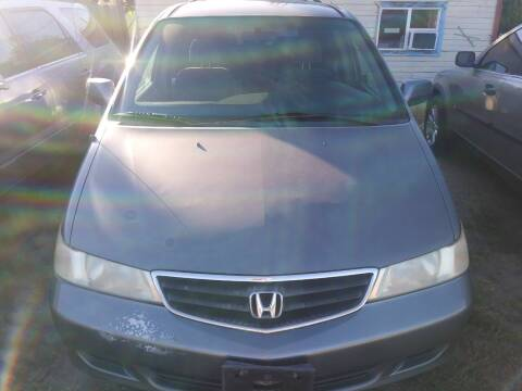 2002 Honda Odyssey for sale at Marvelous Motors in Garden City ID