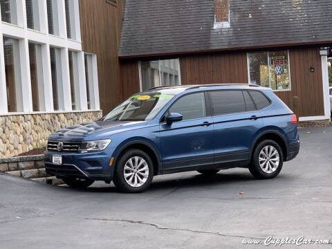 2018 Volkswagen Tiguan for sale at Cupples Car Company in Belmont NH