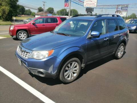 2011 Subaru Forester for sale at KRIS RADIO QUALITY KARS INC in Mansfield OH