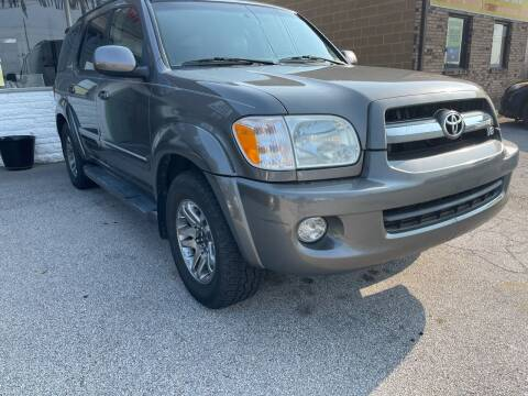 2005 Toyota Sequoia for sale at STL Automotive Group in O'Fallon MO