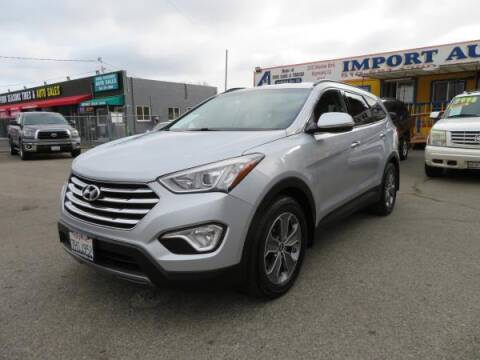 2014 Hyundai Santa Fe for sale at Import Auto World in Hayward CA