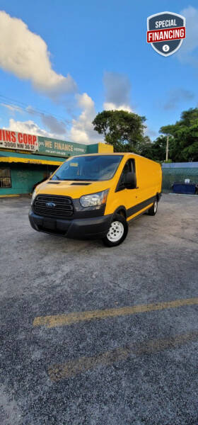 2016 Ford Transit Cargo for sale at H.A. Twins Corp in Miami FL