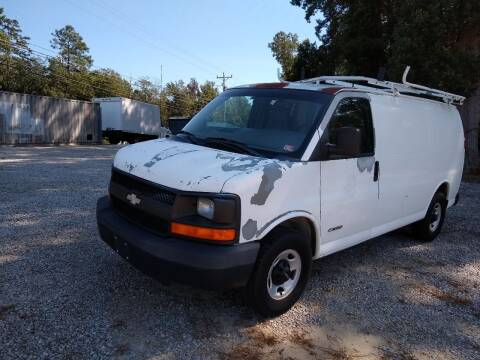 2003 Chevrolet Express Cargo for sale at James River Motorsports Inc. in Chester VA