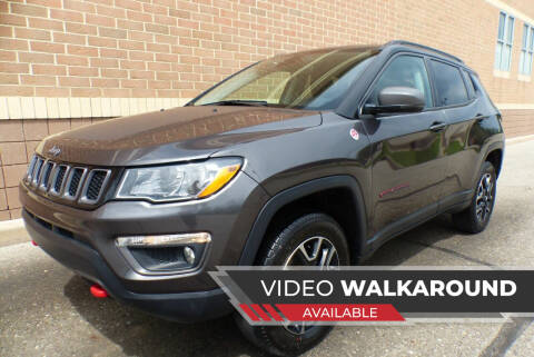 2020 Jeep Compass for sale at Macomb Automotive Group in New Haven MI