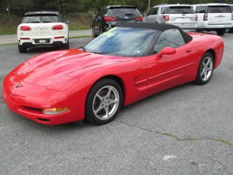 2001 Chevrolet Corvette for sale at WORKMAN AUTO INC in Pleasant Gap PA