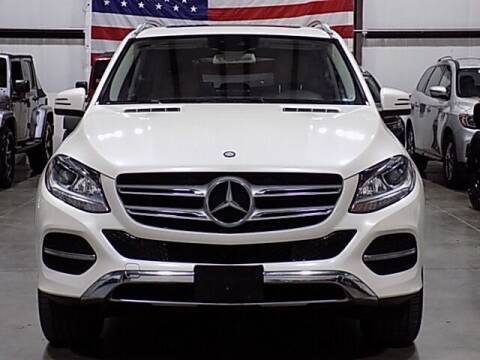 2016 Mercedes-Benz GLE for sale at Texas Motor Sport in Houston TX
