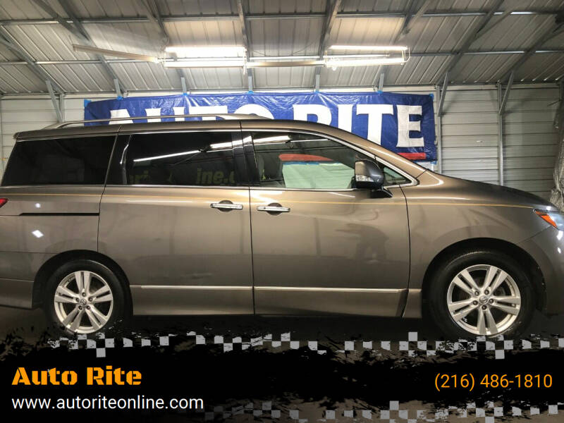 2014 Nissan Quest for sale at Auto Rite in Cleveland OH