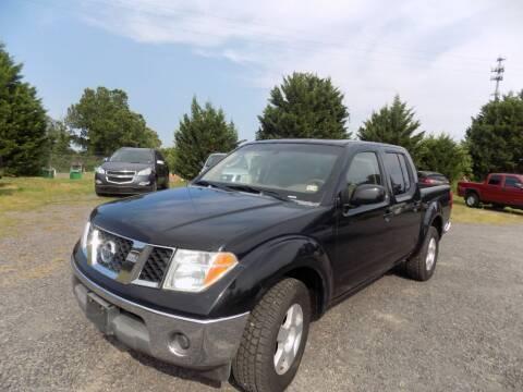 2006 Nissan Frontier for sale at PERUVIAN MOTORS SALES in Warrenton VA