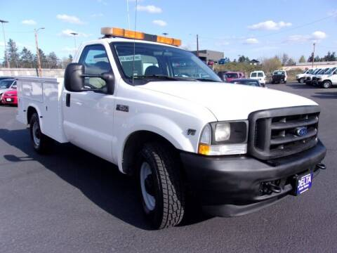 2002 Ford F-250 Super Duty for sale at Delta Auto Sales in Milwaukie OR