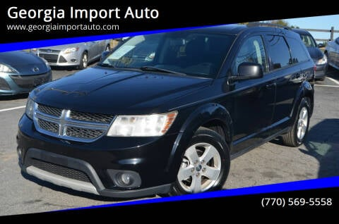2012 Dodge Journey for sale at Georgia Import Auto in Alpharetta GA