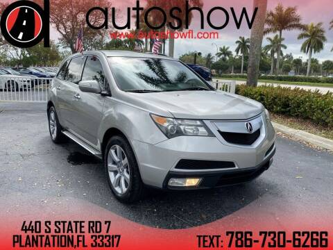2010 Acura MDX for sale at AUTOSHOW SALES & SERVICE in Plantation FL
