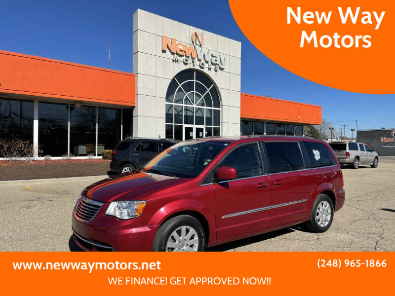 2015 Chrysler Town and Country for sale at New Way Motors in Ferndale MI