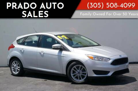 2017 Ford Focus for sale at Prado Auto Sales in Miami FL