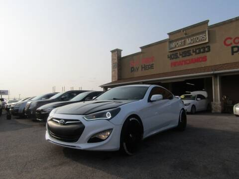 2015 Hyundai Genesis Coupe for sale at Import Motors in Bethany OK
