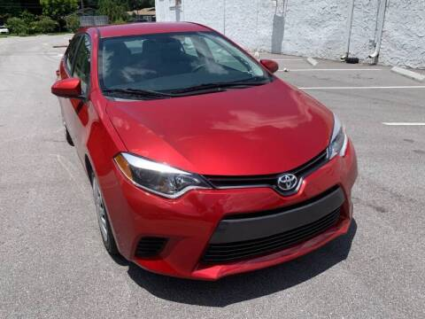 2014 Toyota Corolla for sale at Consumer Auto Credit in Tampa FL