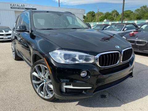 2015 BMW X5 for sale at KAYALAR MOTORS in Houston TX
