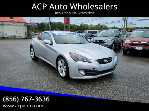 2010 Hyundai Genesis Coupe for sale at ACP Auto Wholesalers in Berlin NJ