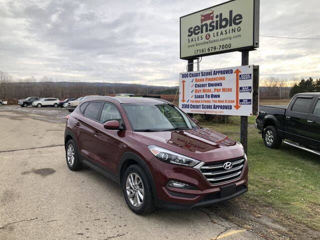 2016 Hyundai Tucson for sale at Sensible Sales & Leasing in Fredonia NY