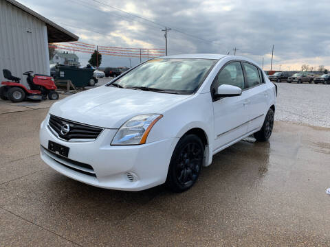 2012 Nissan Sentra for sale at Family Car Farm in Princeton IN