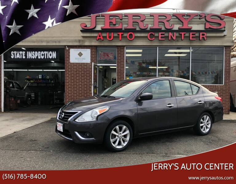 2015 Nissan Versa for sale at JERRY'S AUTO CENTER in Bellmore NY