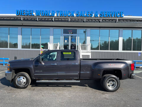 2015 Chevrolet Silverado 3500HD for sale at Diesel World Truck Sales in Plaistow NH