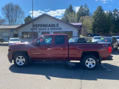 2016 Chevrolet Silverado 1500 for sale at Dependable Auto Sales and Service in Binghamton NY