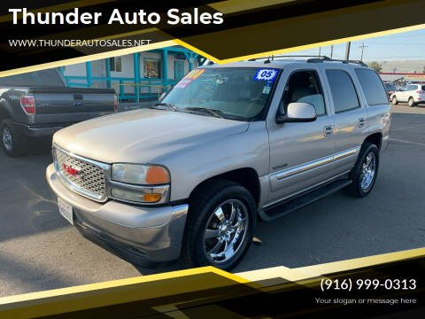 2005 GMC Yukon for sale at Thunder Auto Sales in Sacramento CA