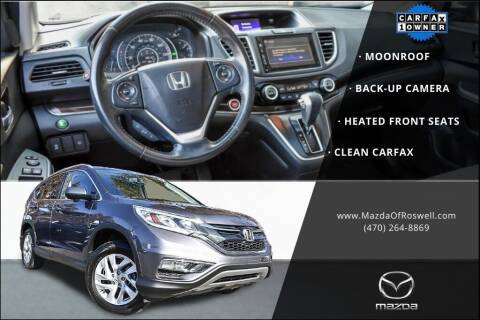 2015 Honda CR-V for sale at Mazda Of Roswell in Roswell GA