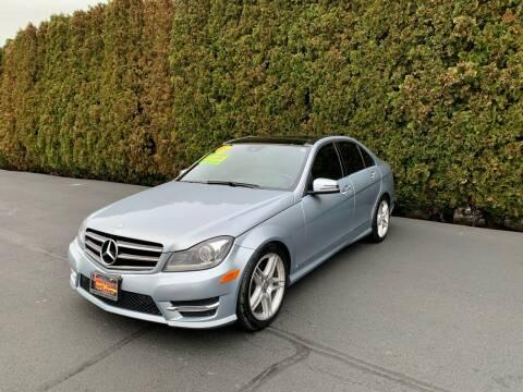 2014 Mercedes-Benz C-Class for sale at Yaktown Motors in Union Gap WA