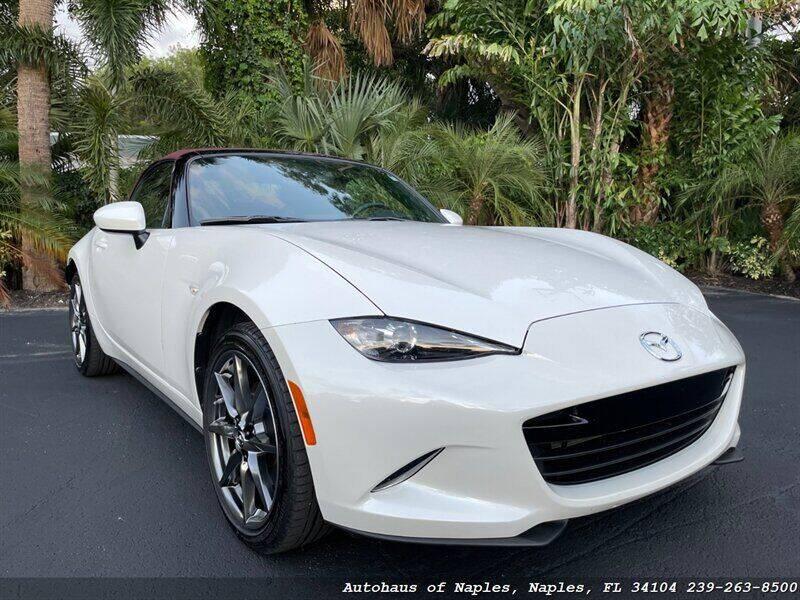 2018 Mazda MX-5 Miata for sale at Autohaus of Naples in Naples FL