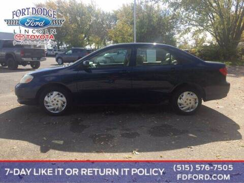 2006 Toyota Corolla for sale at Fort Dodge Ford Lincoln Toyota in Fort Dodge IA