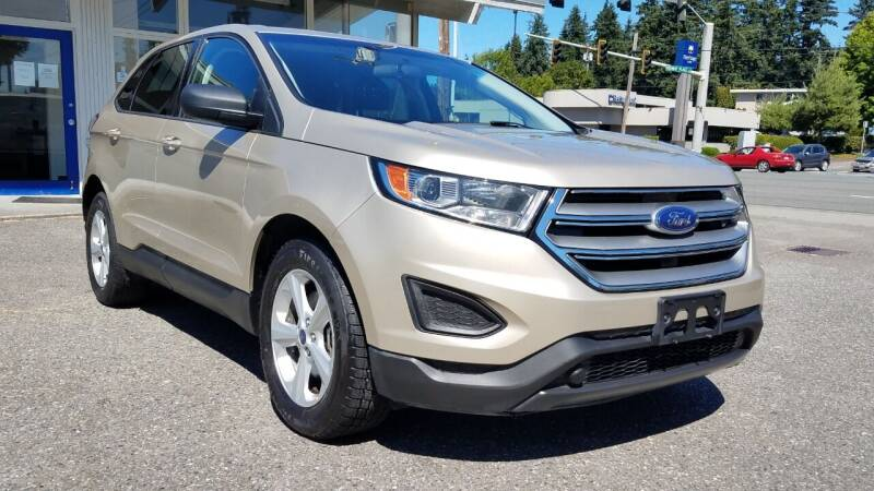 2018 Ford Edge for sale at Seattle Auto Deals in Everett WA