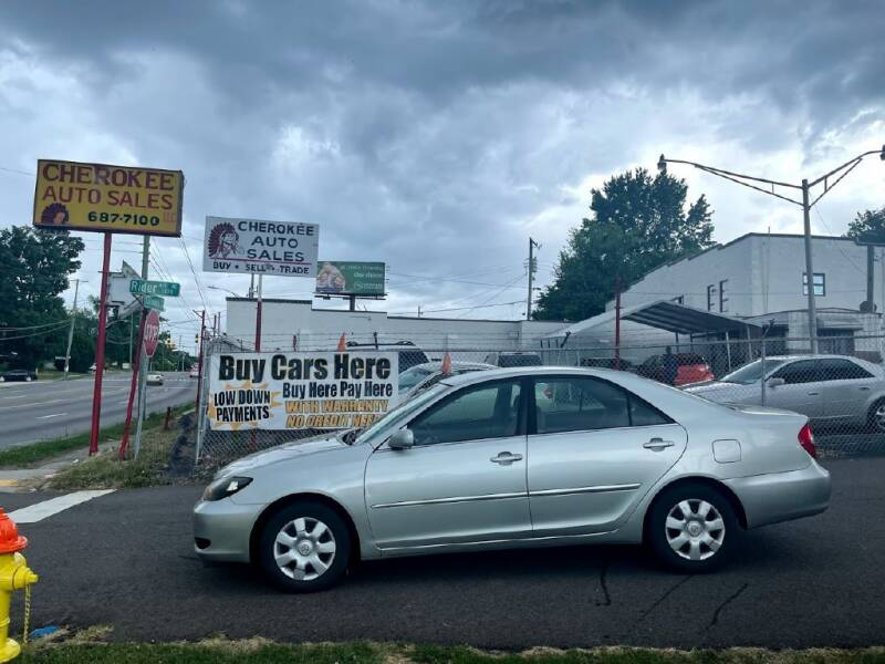 2003 Toyota Camry for sale at Cherokee Auto Sales in Knoxville TN