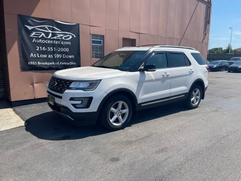 2017 Ford Explorer for sale at ENZO AUTO in Parma OH