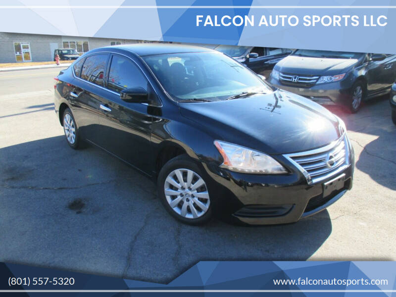 2015 Nissan Sentra for sale at Falcon Auto Sports LLC in Murray UT