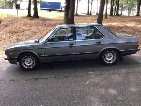 1982 BMW 525i/5 for sale at Roadtrip Carolinas in Greenville SC
