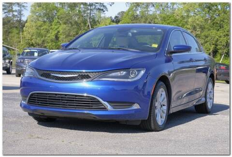 2017 Chrysler 200 for sale at STRICKLAND AUTO GROUP INC in Ahoskie NC