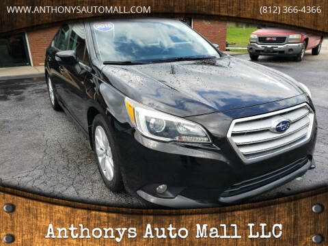 2015 Subaru Legacy for sale at Anthonys Auto Mall LLC in New Salisbury IN