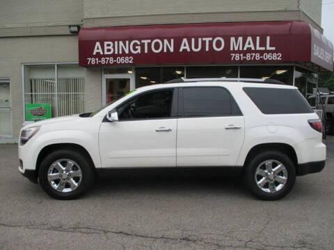 2013 GMC Acadia for sale at Abington Auto Mall LLC in Abington MA