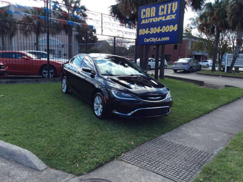 2016 Chrysler 200 for sale at Car City Autoplex in Metairie LA