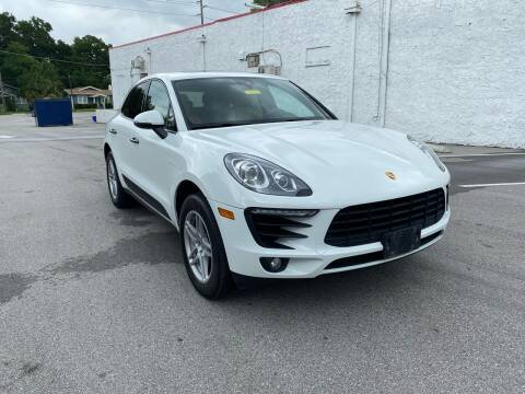 2017 Porsche Macan for sale at LUXURY AUTO MALL in Tampa FL
