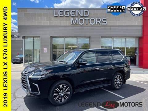 2019 Lexus LX 570 for sale at Legend Motors of Detroit - Legend Motors of Waterford in Waterford MI