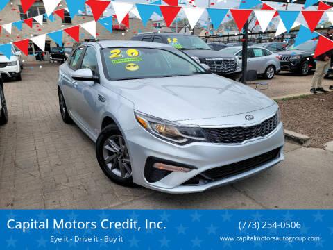 2020 Kia Optima for sale at Capital Motors Credit, Inc. in Chicago IL