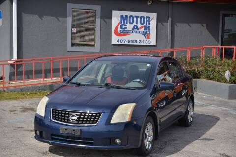 2009 Nissan Sentra for sale at Motor Car Concepts II - Kirkman Location in Orlando FL