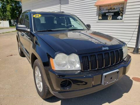 2006 Jeep Grand Cherokee for sale at MT PLEASANT MOTORS in Mt Pleasant IA
