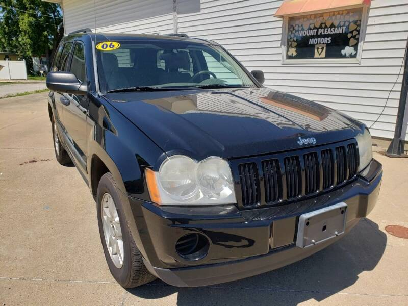 2006 Jeep Grand Cherokee for sale at MT PLEASANT MOTORS in Mt Pleasant IA