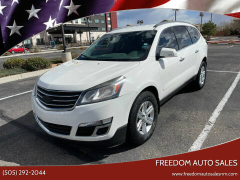 2013 Chevrolet Traverse for sale at Freedom Auto Sales in Albuquerque NM