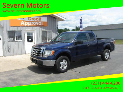 2012 Ford F-150 for sale at Severn Motors in Cadillac MI